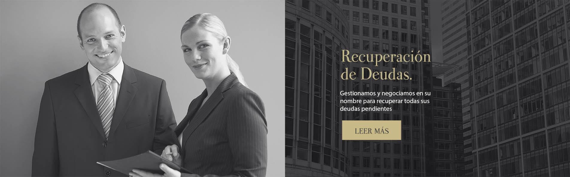 Profesionales en la recuperación de deudas